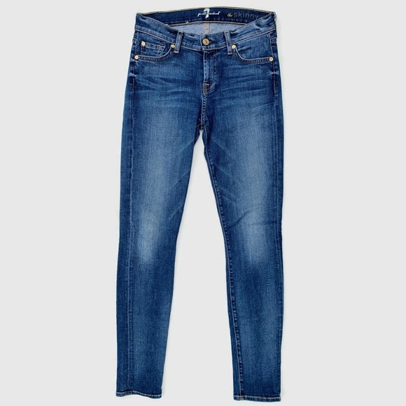 7 For All Mankind Denim - 7 For All Mankind the Skinny Jeans 26